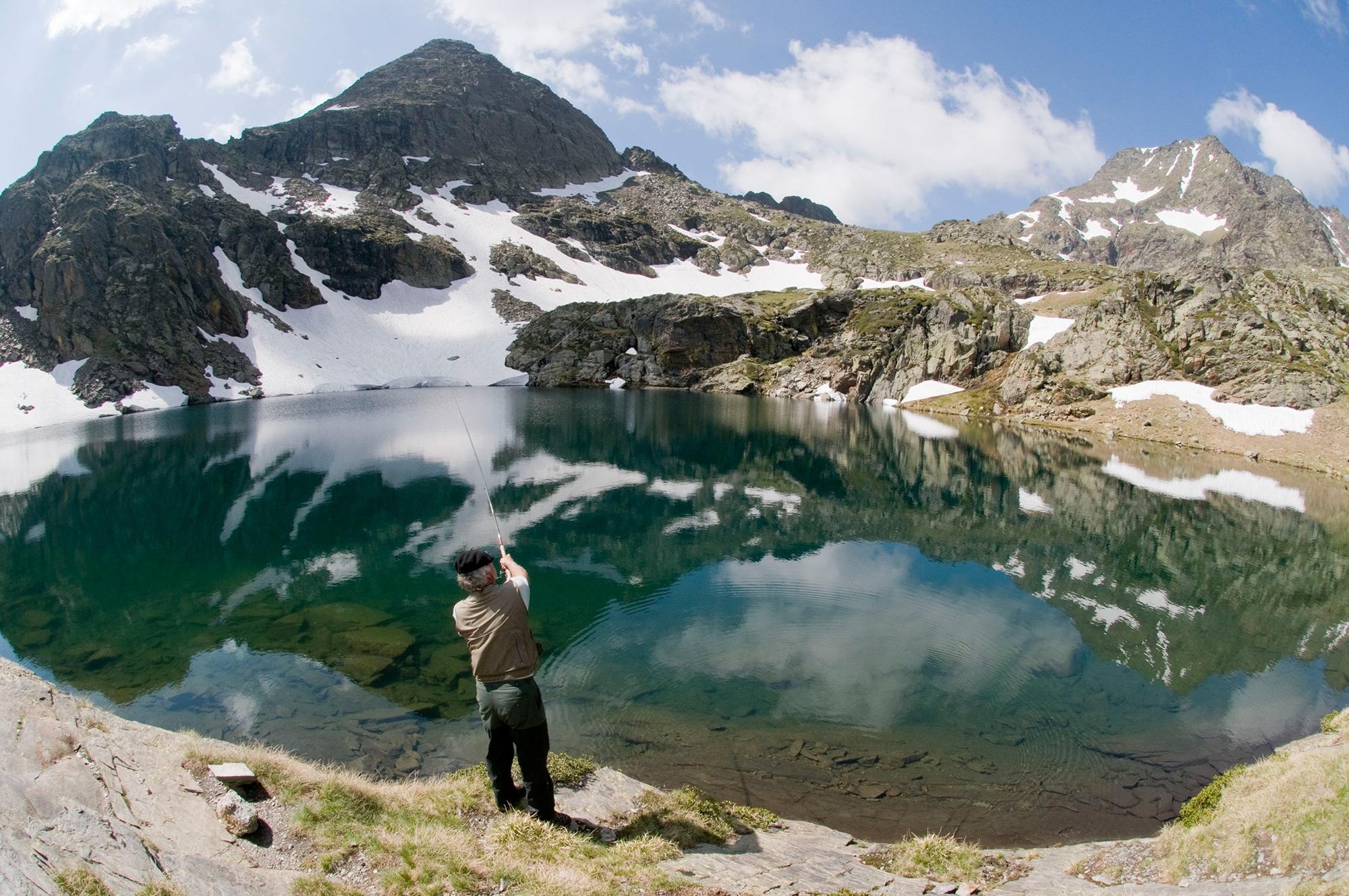 + de 160 lacs de montagne
